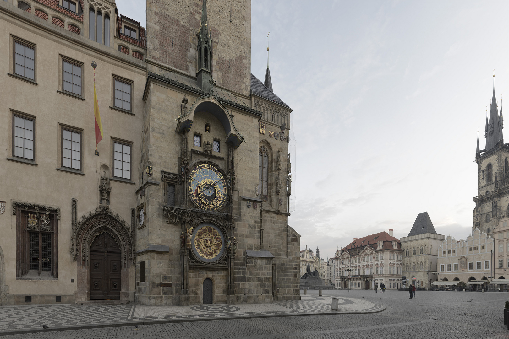 Prague Astronomical Clock. Before Photoshop