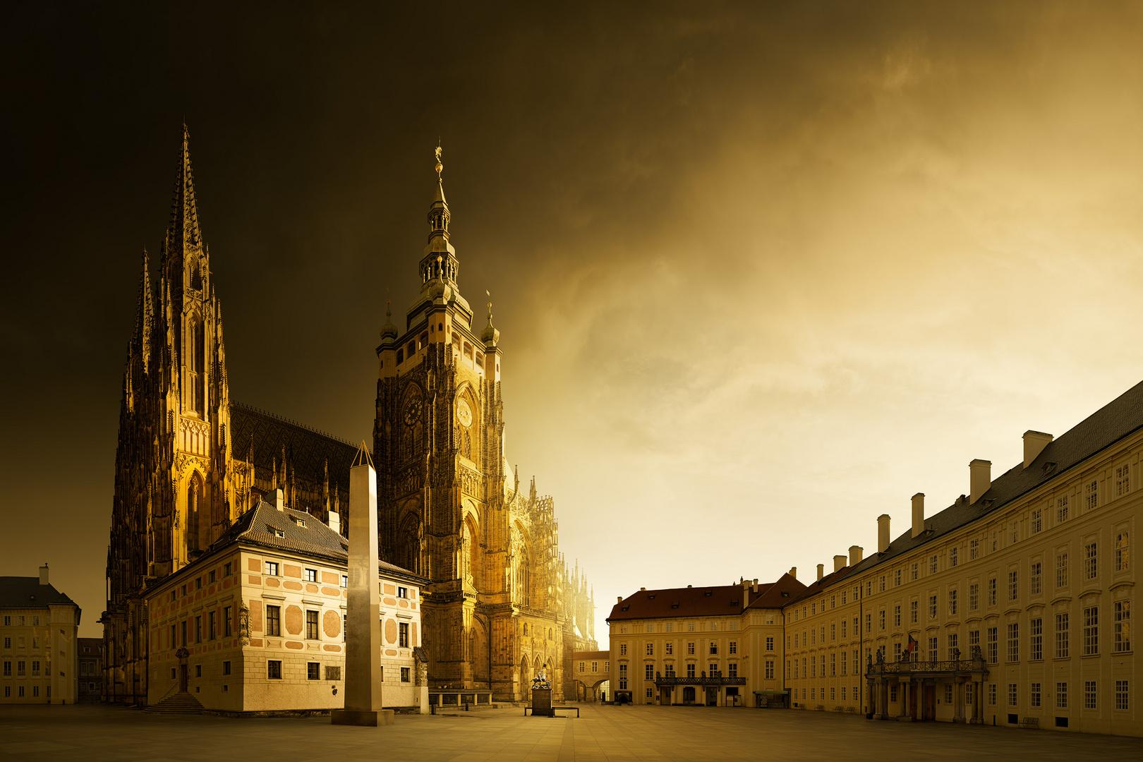 Prague Castle After