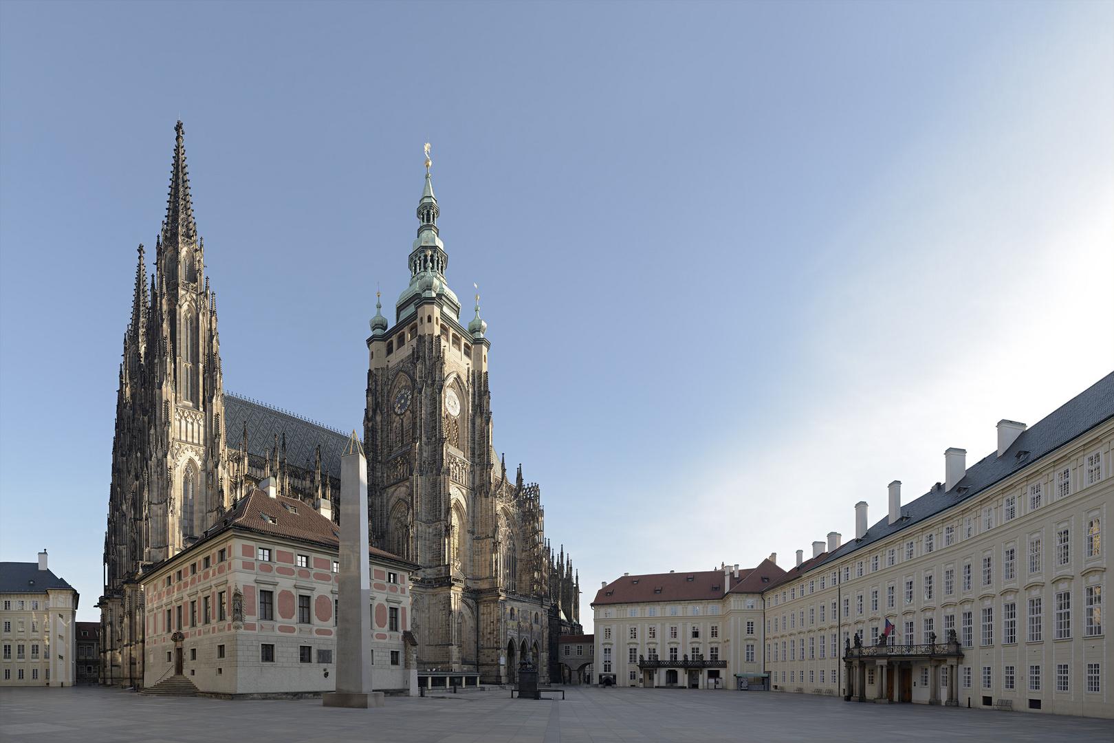 Prague Castle Before