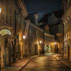 Prague Misenska at Night