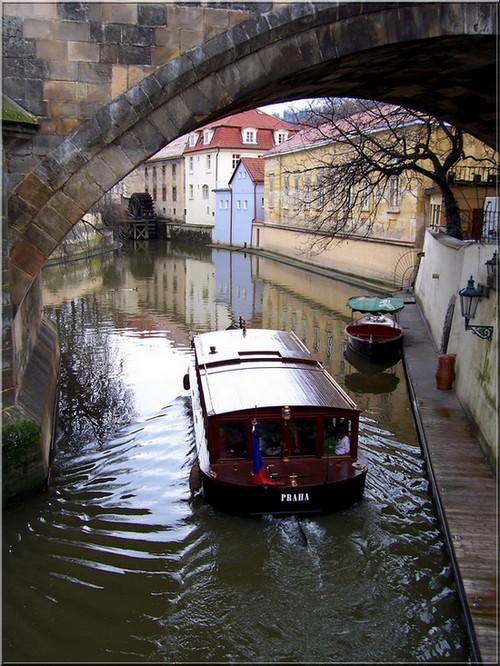 Prague-under Charles Bridge