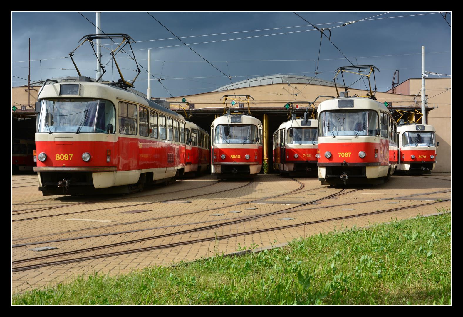 Praha (Prag) – Tatra-Ansammlung