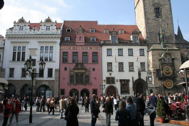 Praha, Staromestska radnice (Old Town Hall).