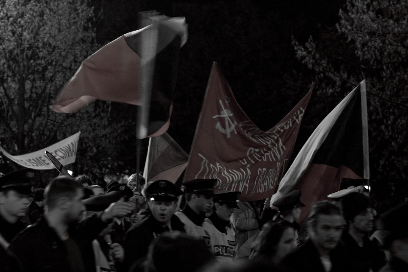 Praha velvet revolution commemoration day