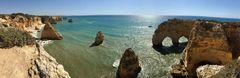 Praia da Marinha (Handy-Pano)