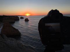Praia da Marinha - Sunrise  ;-))))))