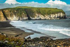 Praia de Santa Barbara - bekannter Surfstrand