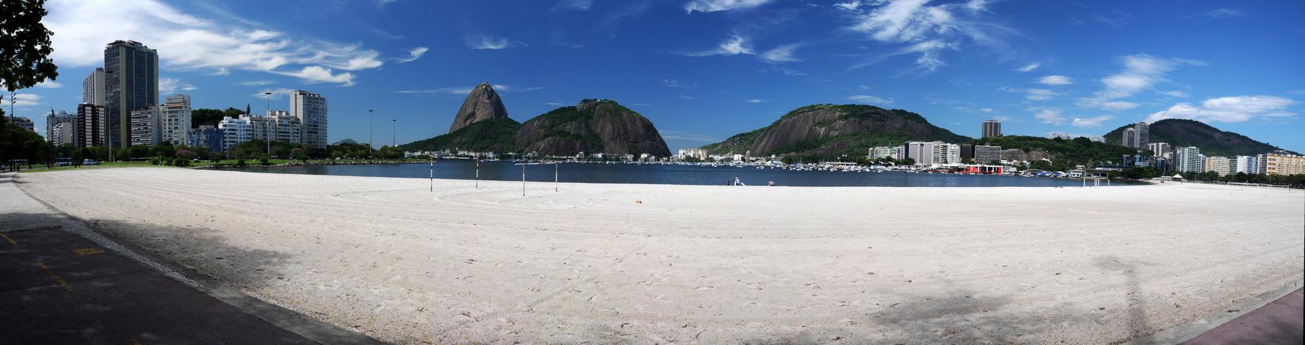 Praia von Botafogo mit Zuckerhut
