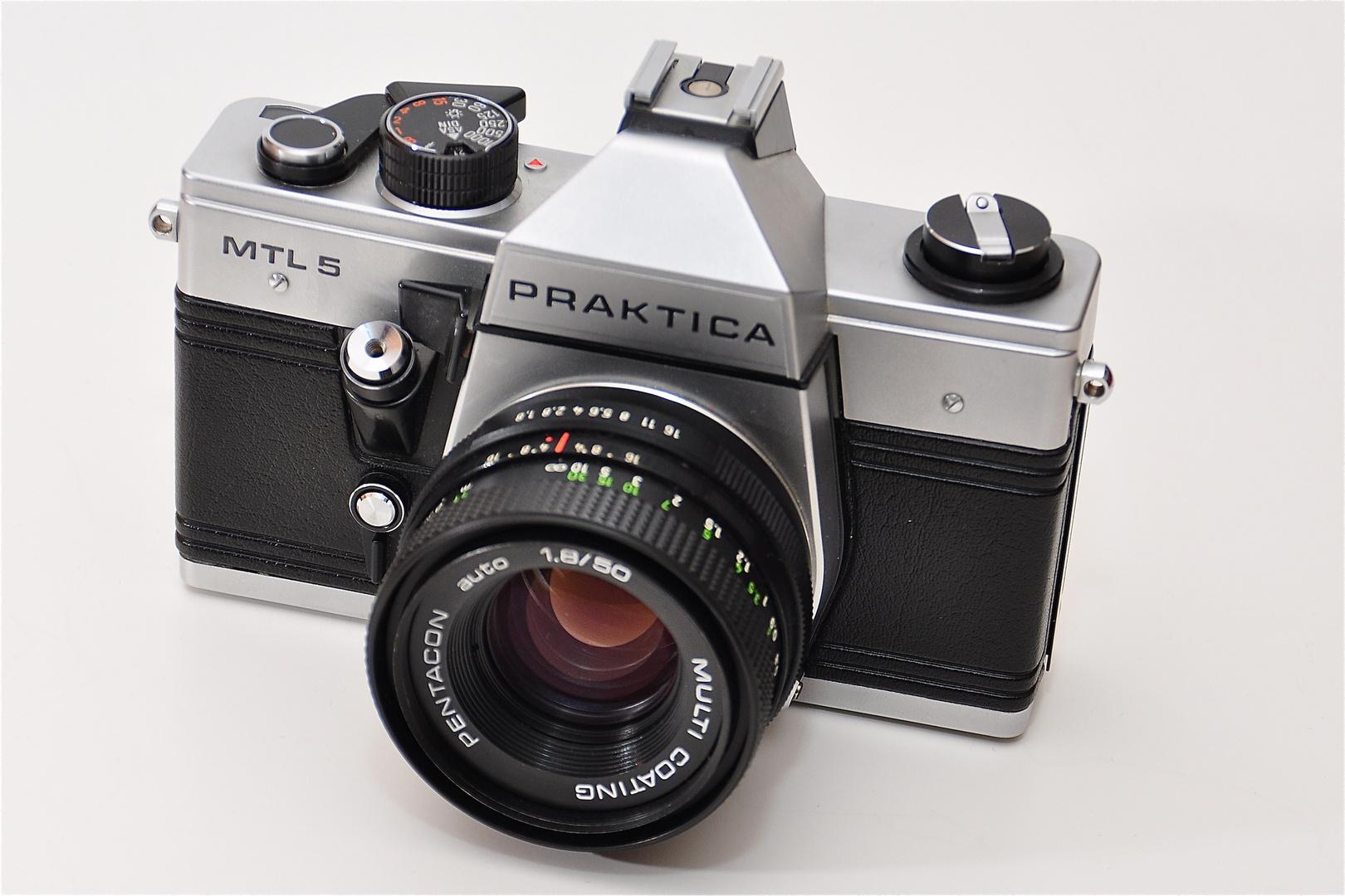 Praktica mtl5 foto & bild industrie und technik historische