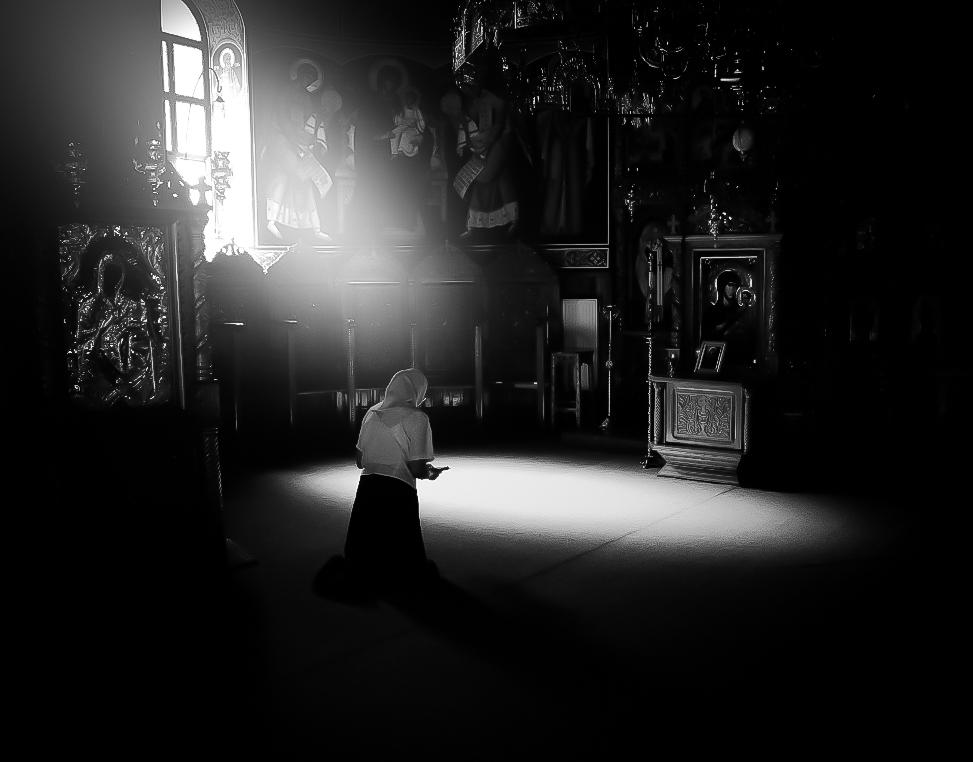 praying...