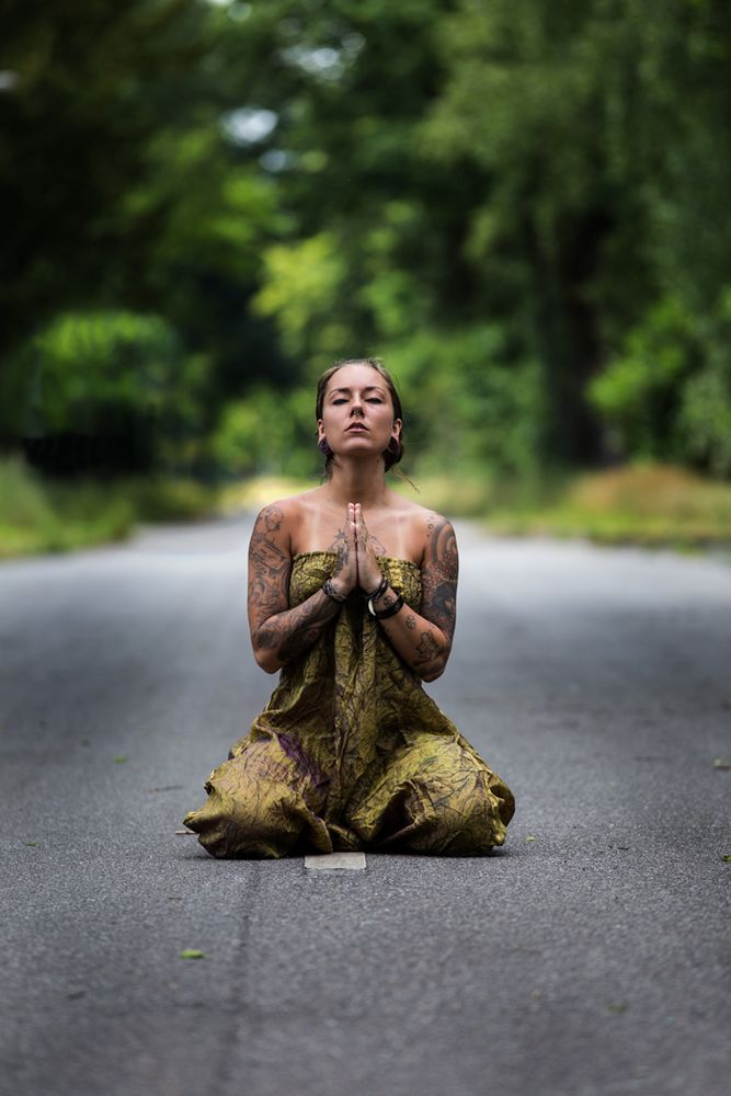praying on the road to nowhere