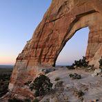 *pre sunrise at White Mesa Bridge*