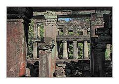 Preah Kahn Säulen