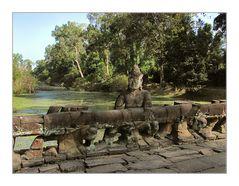 Preah Khan Brücke