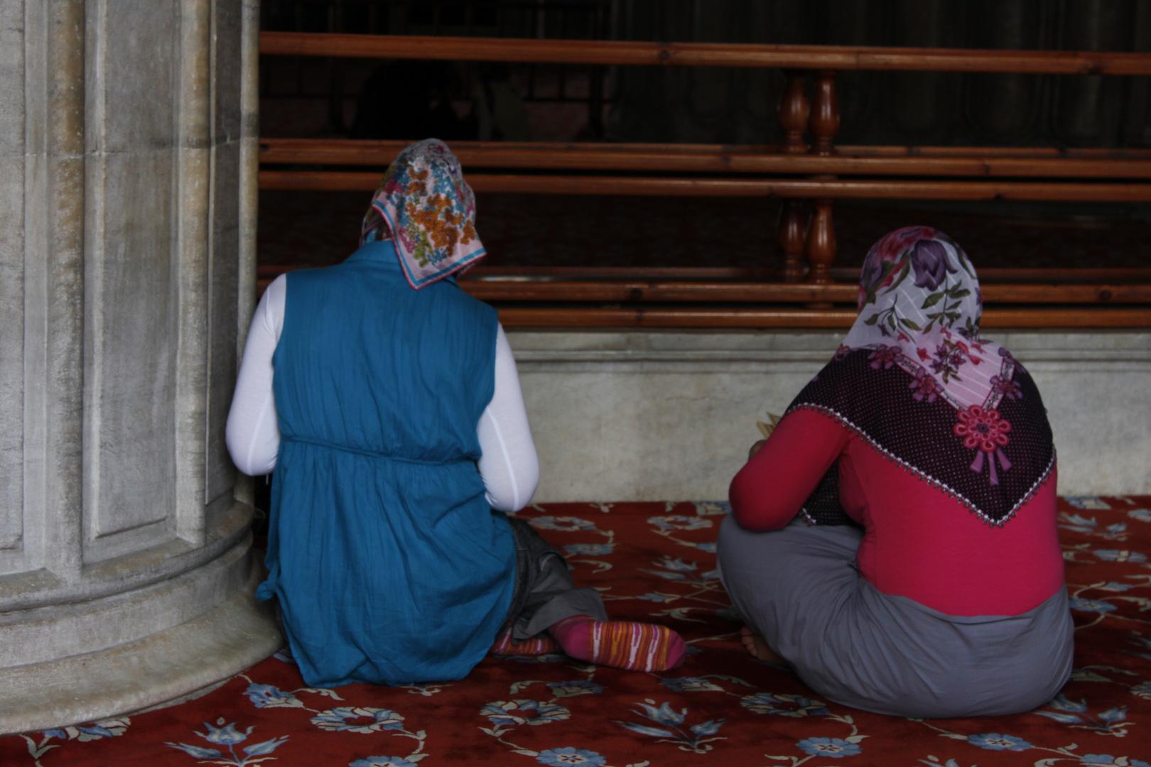 Preghiera a Istanbul