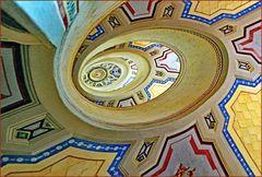 premier escalier autoportant datant  du 16e siècle