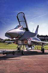 Premiere: Eurofighter in Büchel