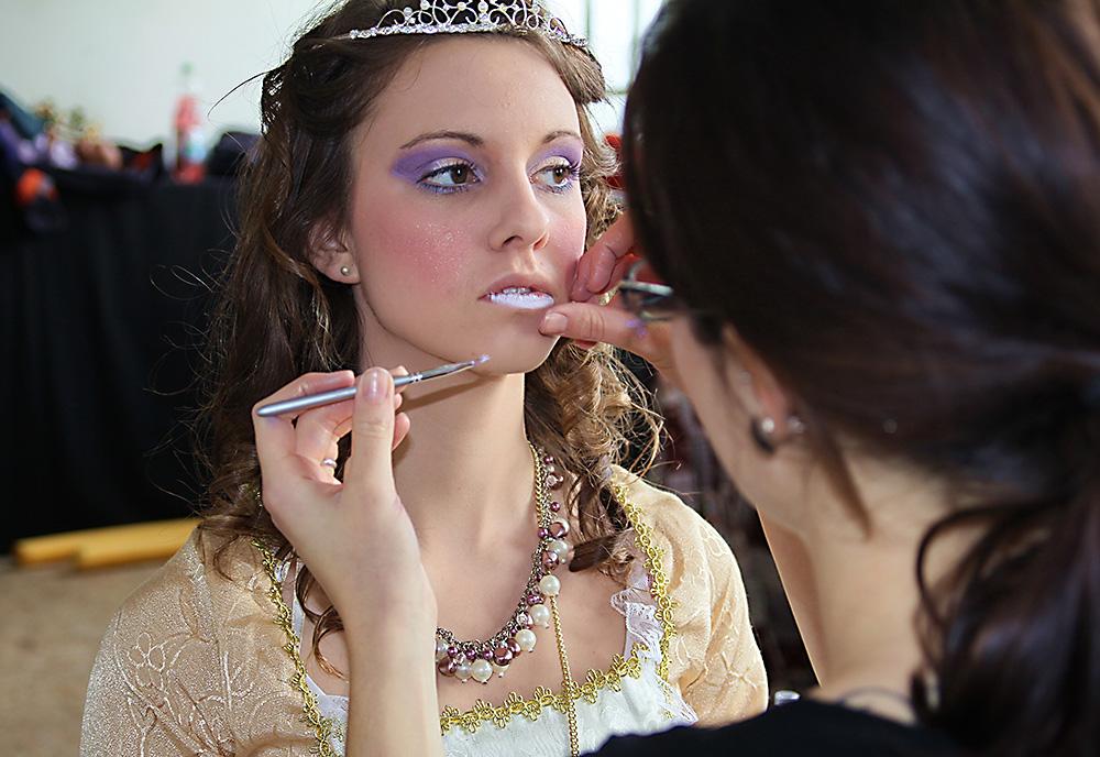 preparing the princess