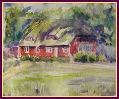 Prerow Rote Häuser