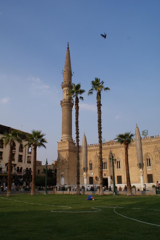Prés du souk du Caire