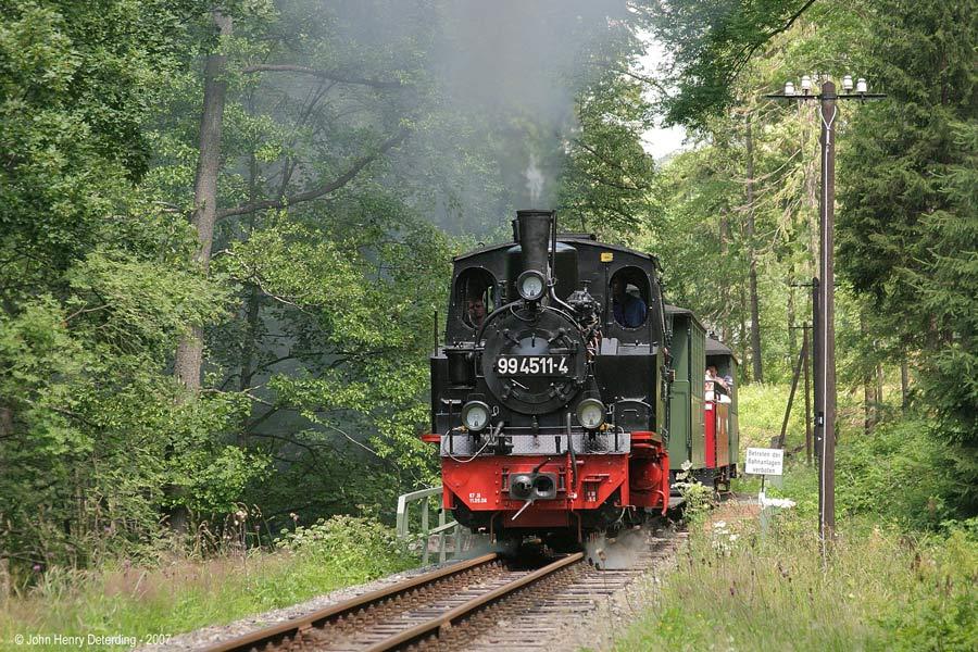 Preßnitztalbahn . Sommer