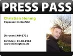 Presspass Christian Hennig
