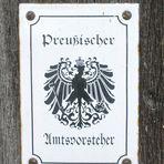 """Preusischer Amtsvorsteher """"Wie Dazumal"""""""