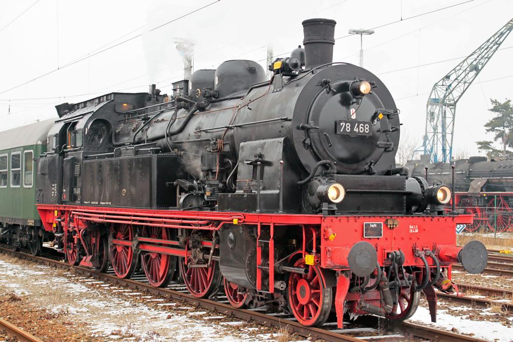 Preußische T 18 DRG-Baureihe 78.0–5 DB BR 78 DR BR 78 später 78.1. PKP OKo 1