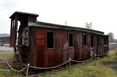 Preußscher Abteilwagen III. Classe BJ 1889 - ausgedient