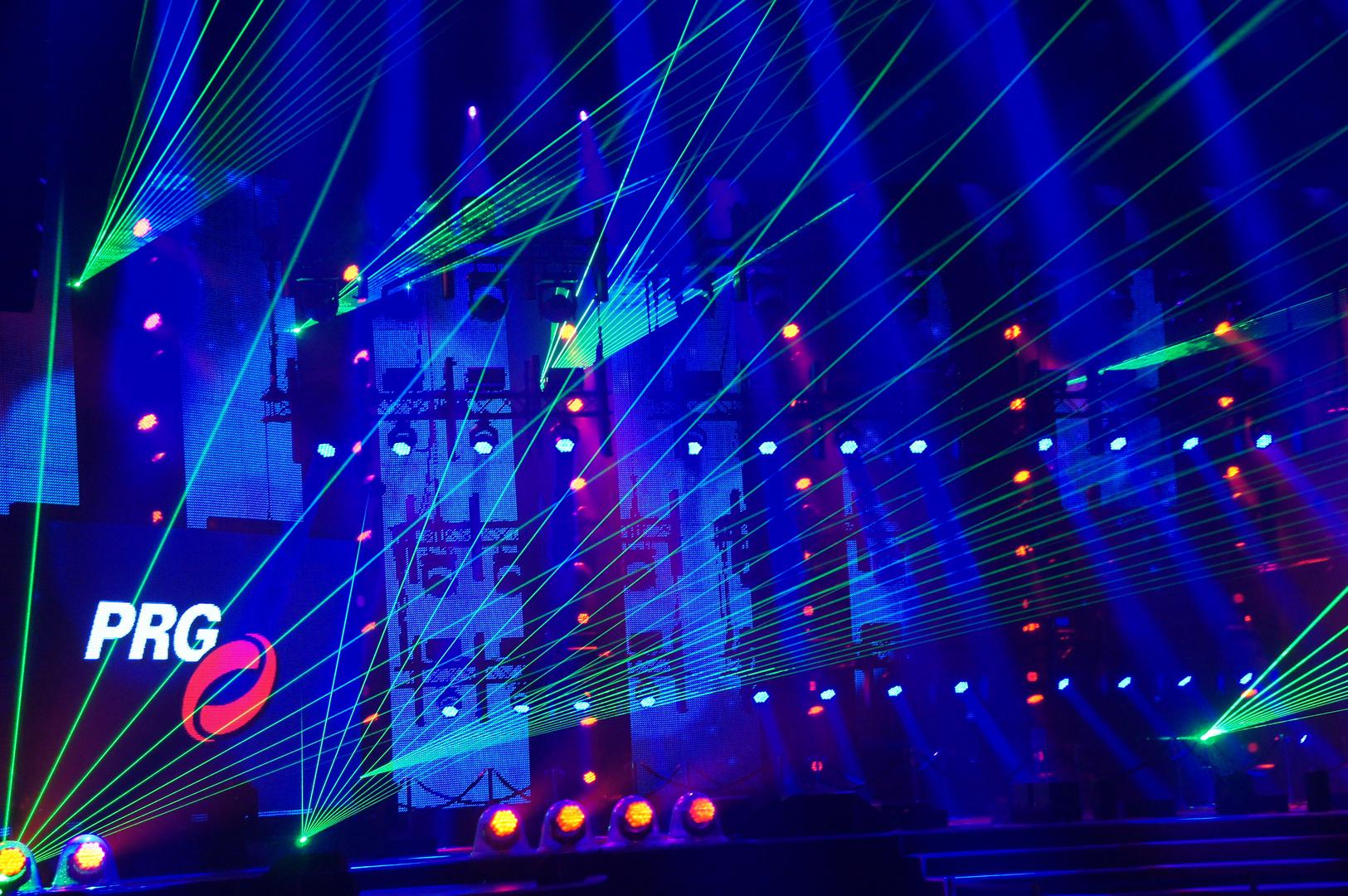 PRG Light and Sound Show: Laser (1)