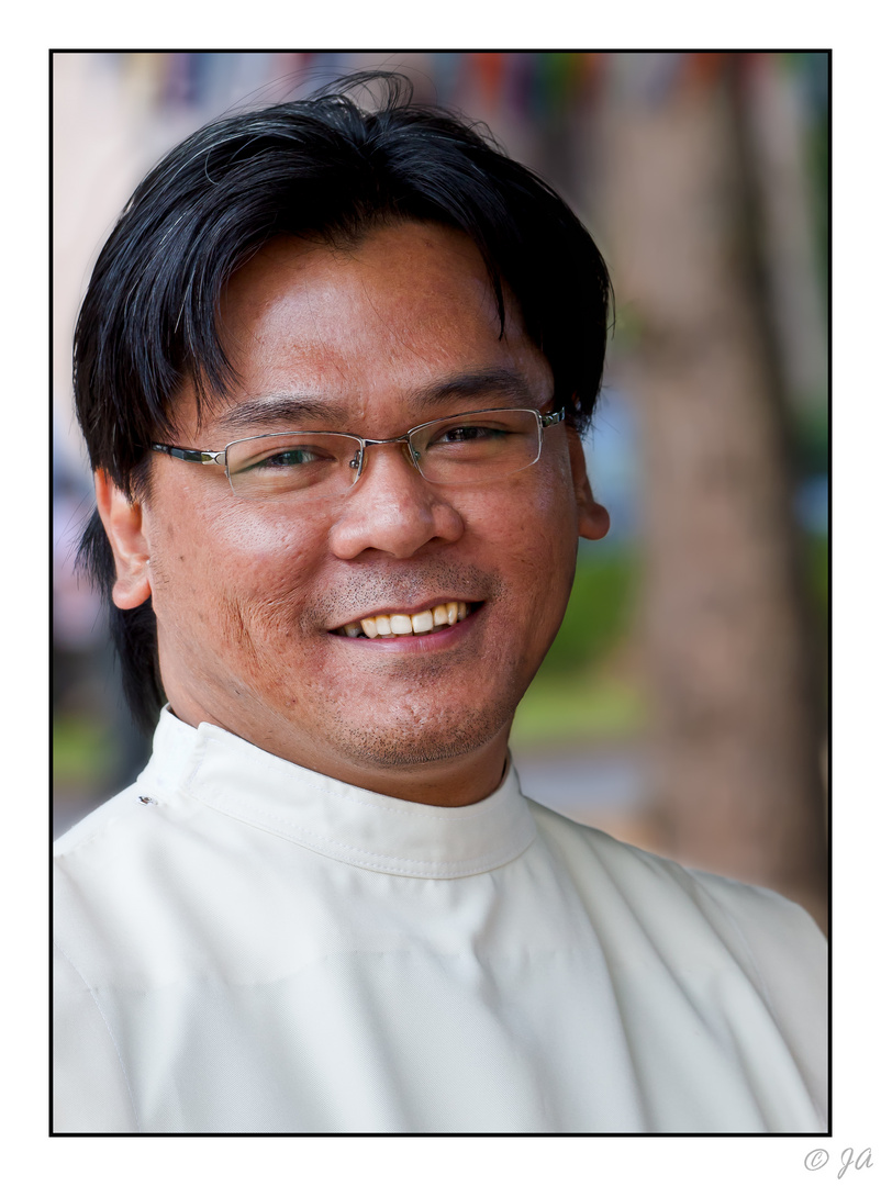 Priester - Menschen auf den Philippinen 7