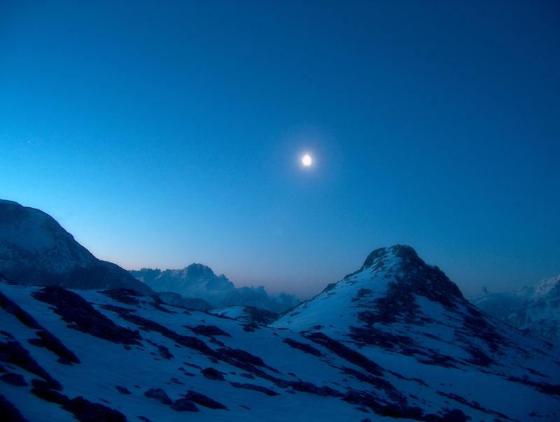 Prima dell'alba, il gelo