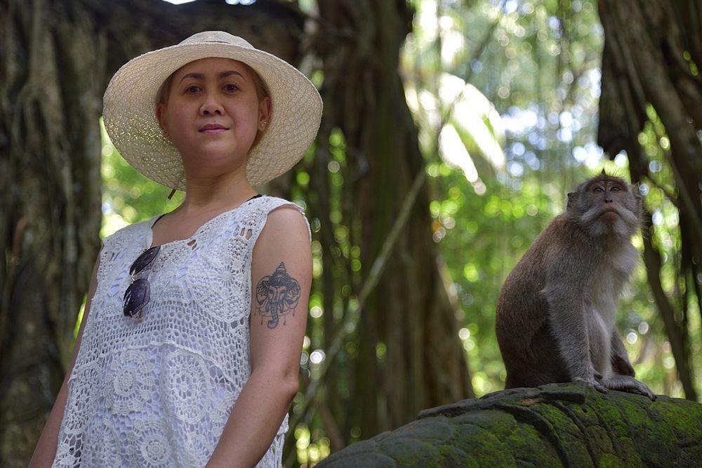 Primaten-Portrait