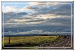 Primavera, luces y nubes en los campos Castellanos I