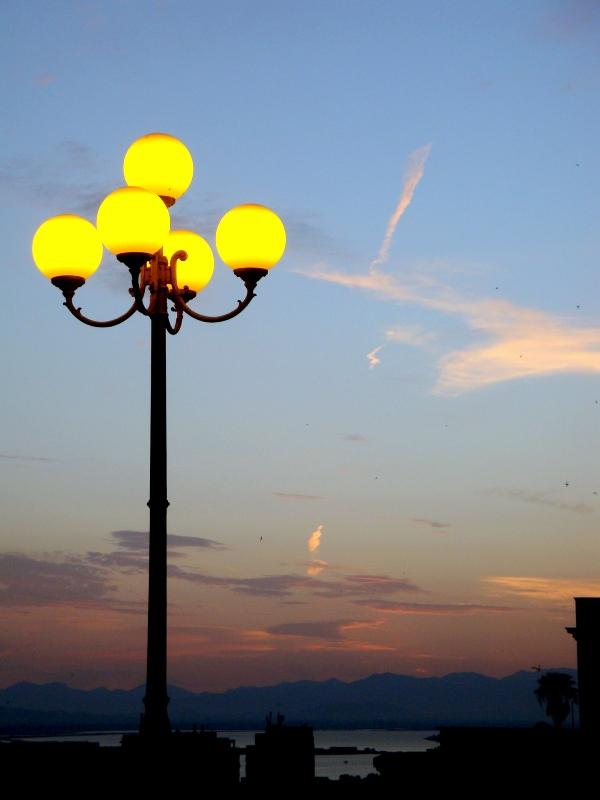 Prime luci della sera