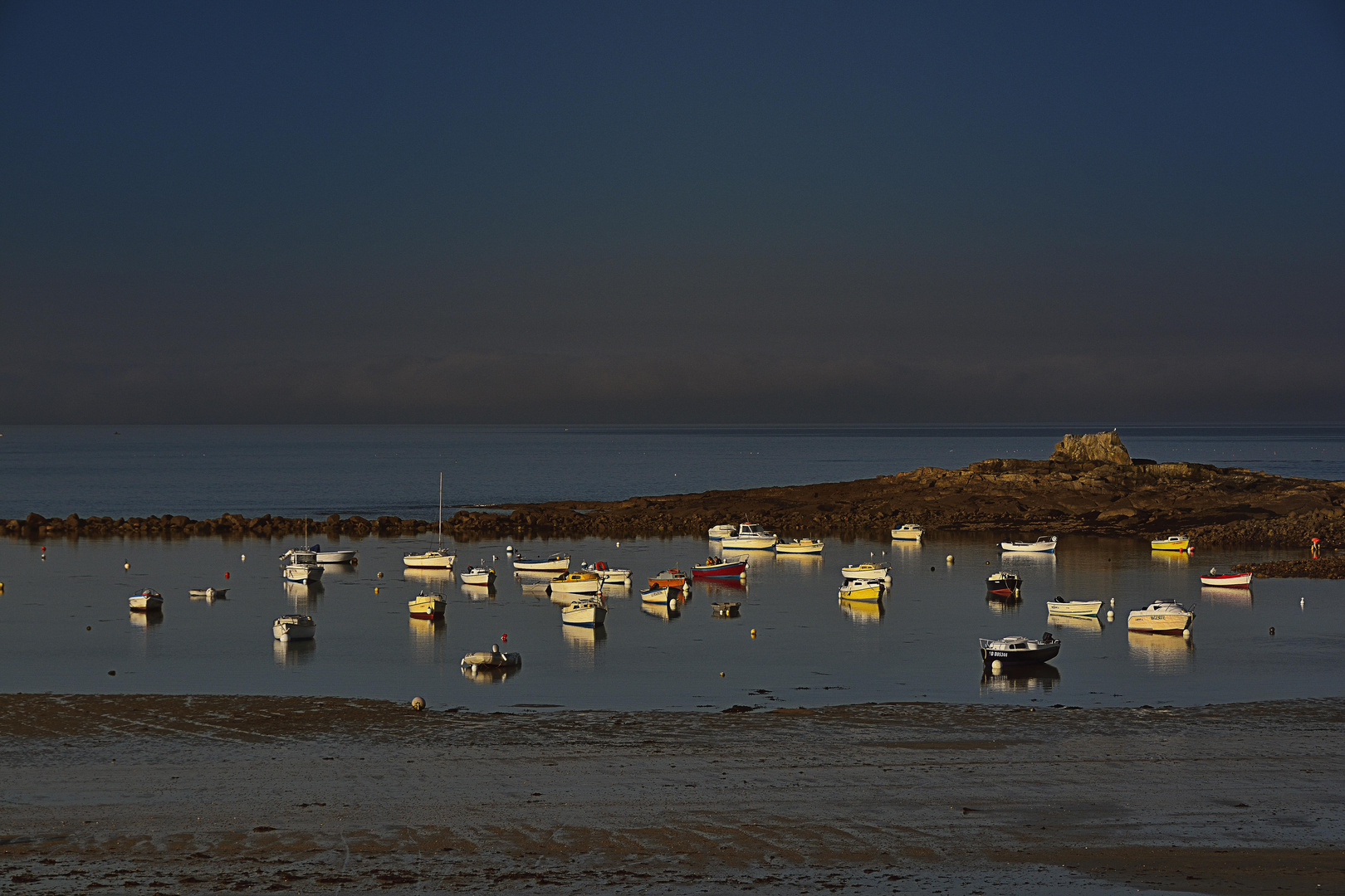 printemps breton, lever de soleil