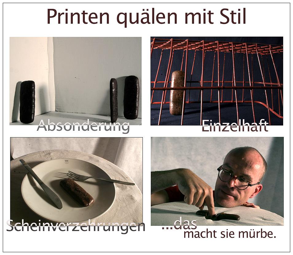 Printen quälen von Holger Karl zwo