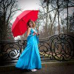 Prinzessin CINDY im Schlosspark