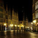 Prinzipalmarkt um Mitternacht