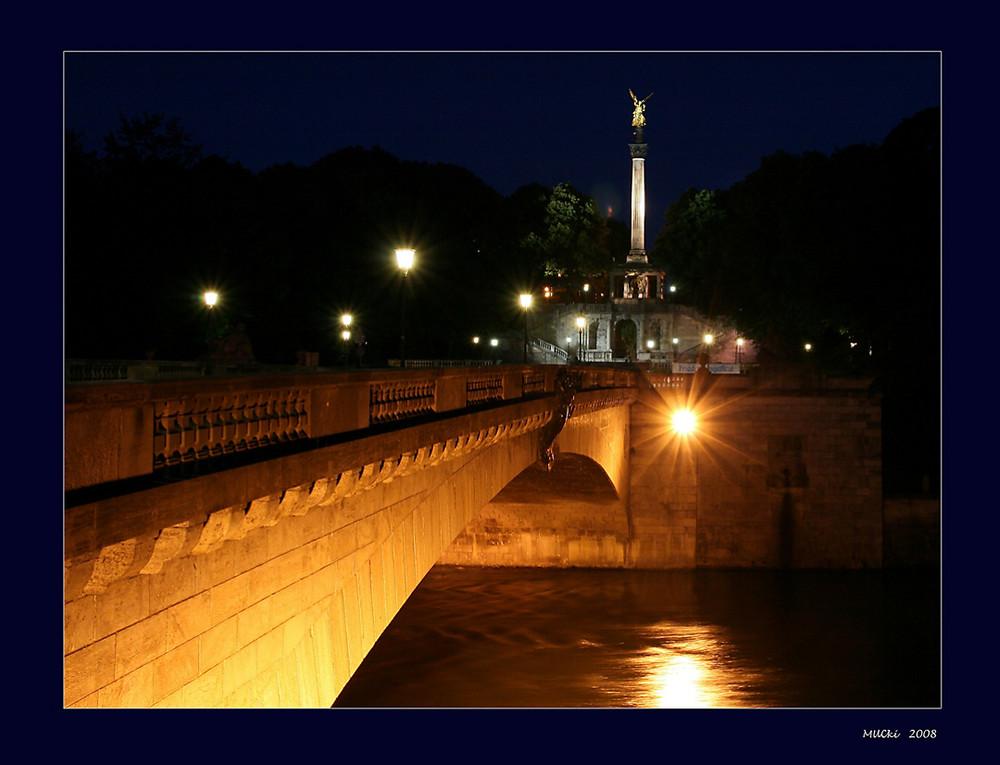 Prinzregentenbrücke mit Friedensengel