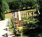 Prislop Monastery - The Graveyard