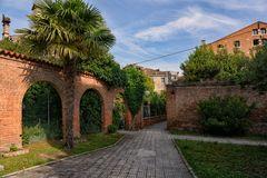 Private Gärten in Venedig