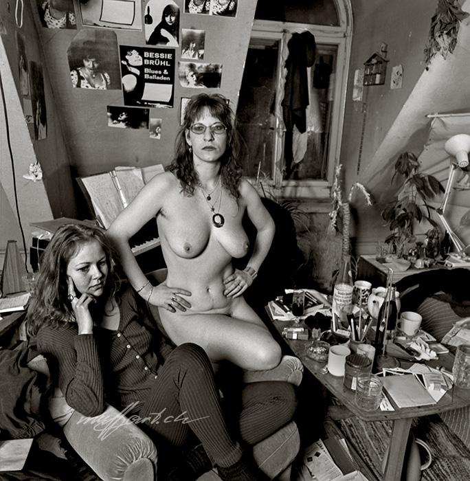 private nude, Bessie von Brühl