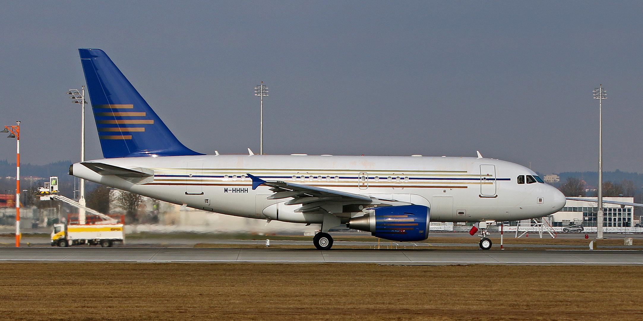 Privater Airbus