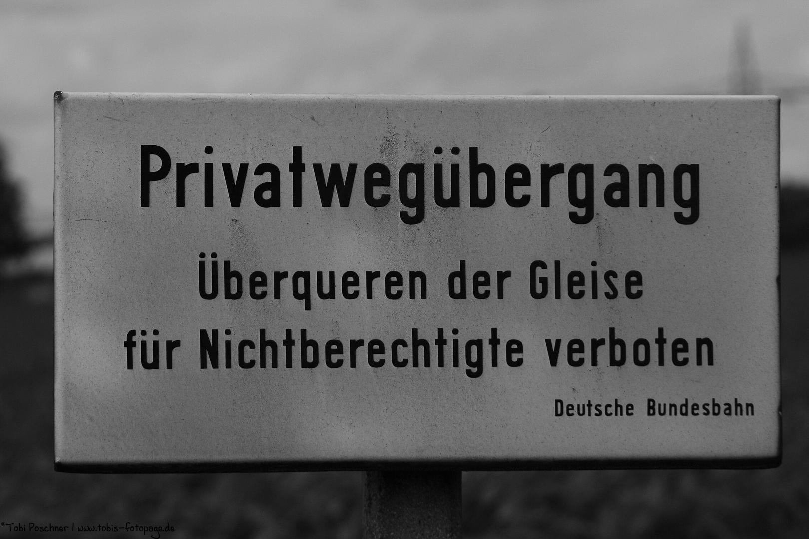Privatübergang