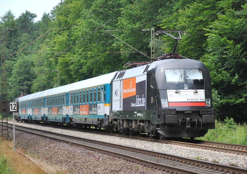 Probefahrten des neuen HKX (Hamburg-Köln-Express)
