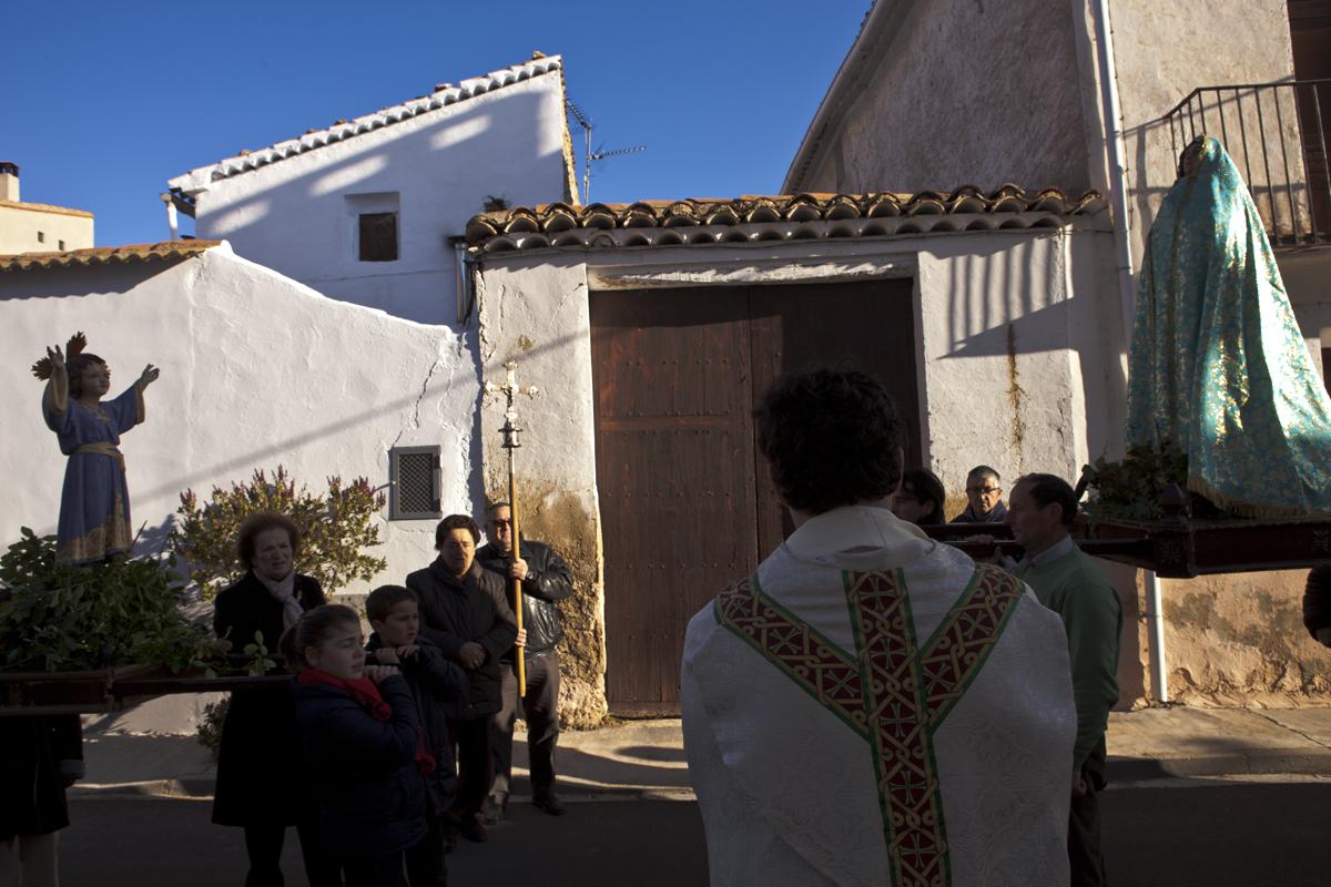 Procesión el domingo de resurreción