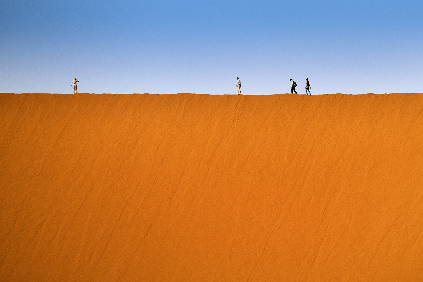 Processione sulla duna #3