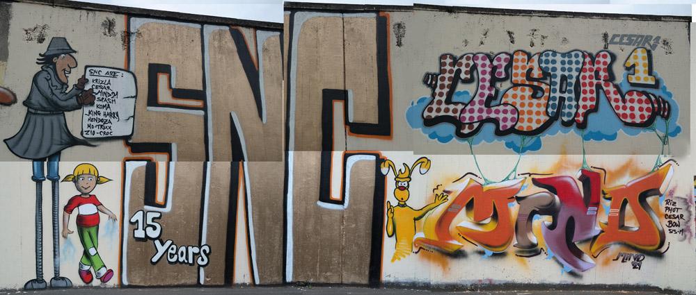 Produktion von MInd21.SNC und CesarOne.SNC in Frankfurt/Main