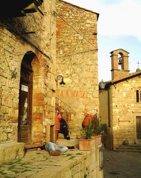 """Progetto """"Sdraiato"""" - Casale Marittimo - 2006"""